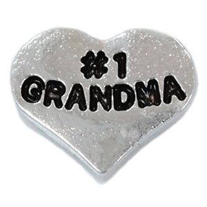Picture of '#1 Grandma' Charm